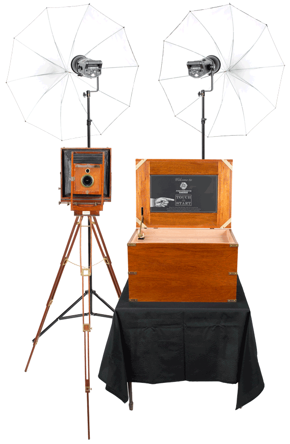 Open Air Photo Booth Rentals | The Photobooth Machine